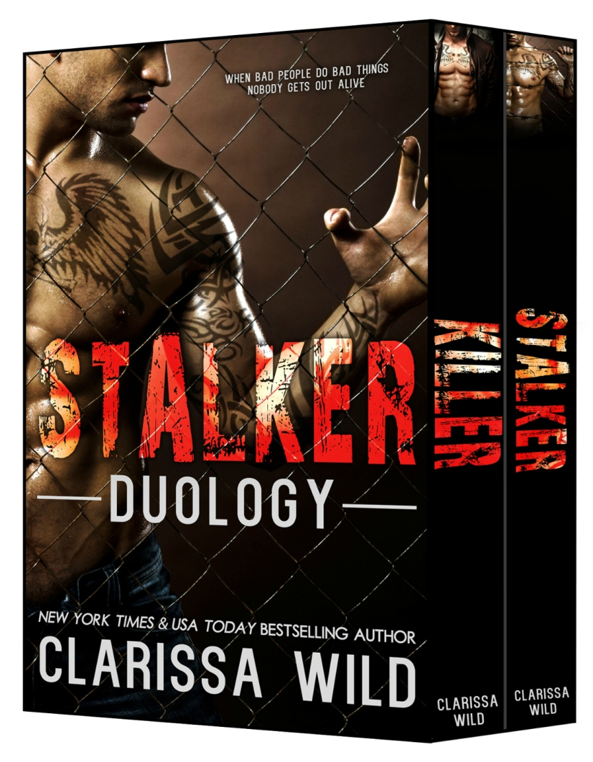 Stalker Duology by Clarissa Wild: Release Day Blitz + Excerpt +#Giveaway