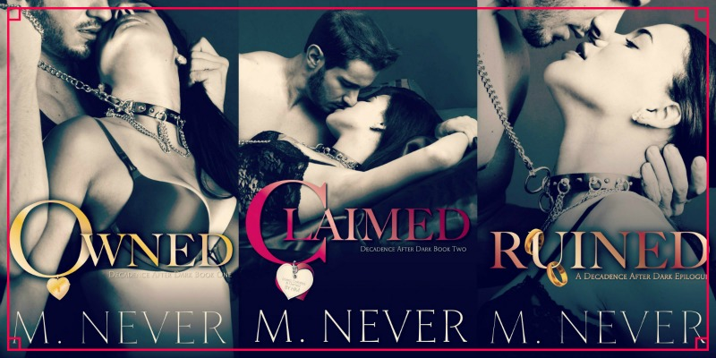 M Never Series Banner