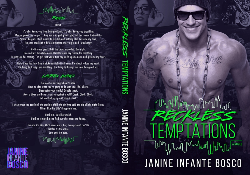 Reckless Temptations Full Jacket Cover
