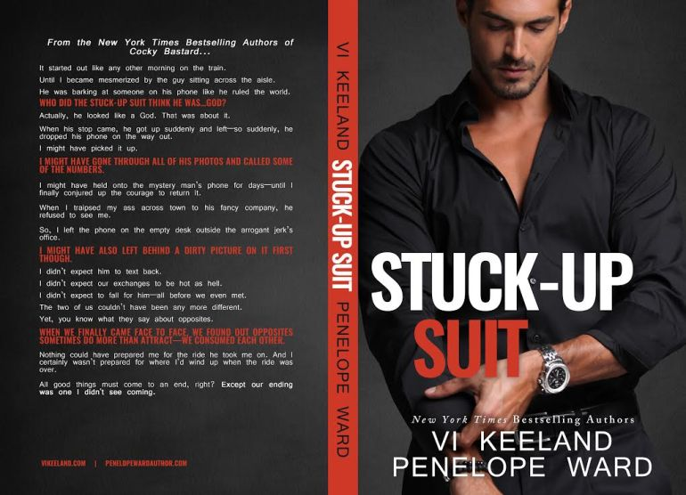 Mile High KINK Book Club: Cover Reveal for Stuck Up Suit by Vi Keeland and Penelope Ward