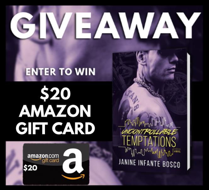 Uncontrollable Temptations Blitz Giveaway Graphic