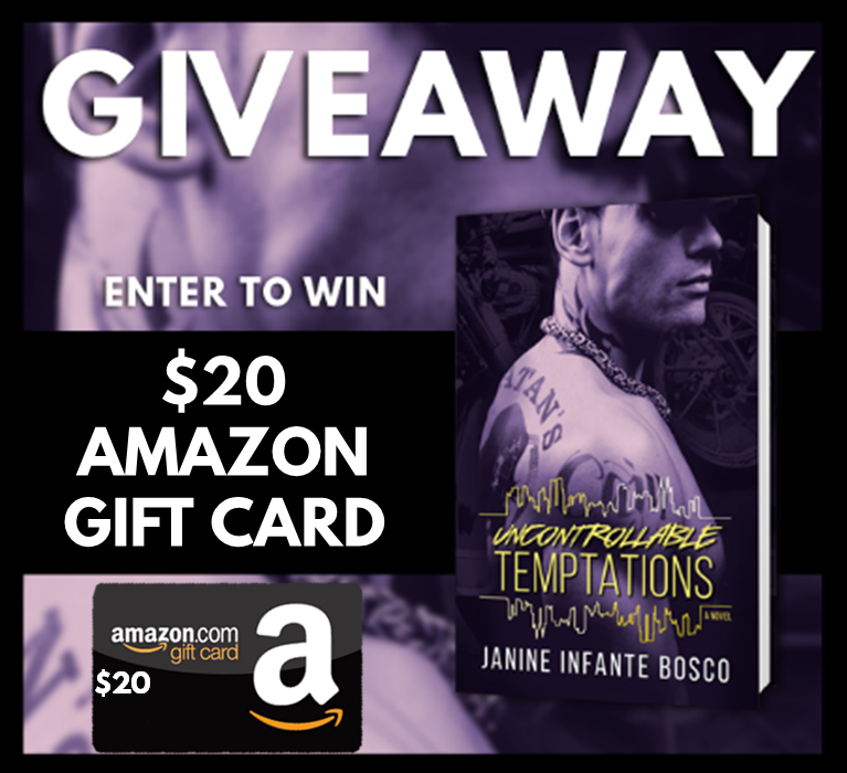 Uncontrollable Temptations Blitz Giveaway Graphic