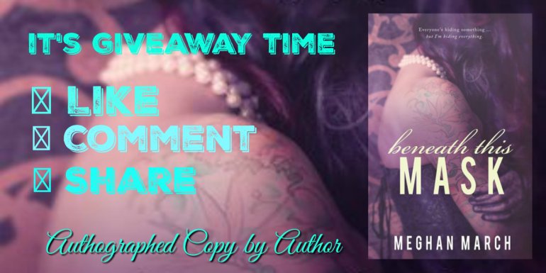 Beneath this Mask Giveaway