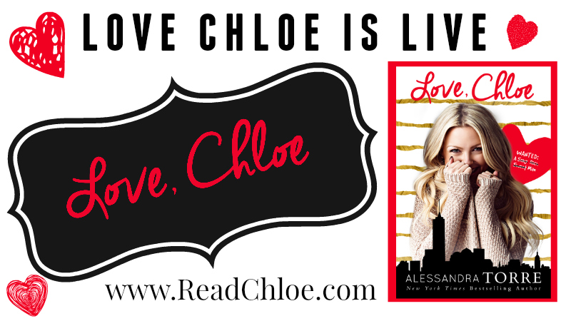 The Kink Report: Love, Chloe by Alessandra Torre Release Day