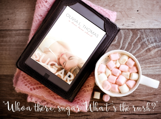 Hot chocolate drink with marshmallow and ebook reader