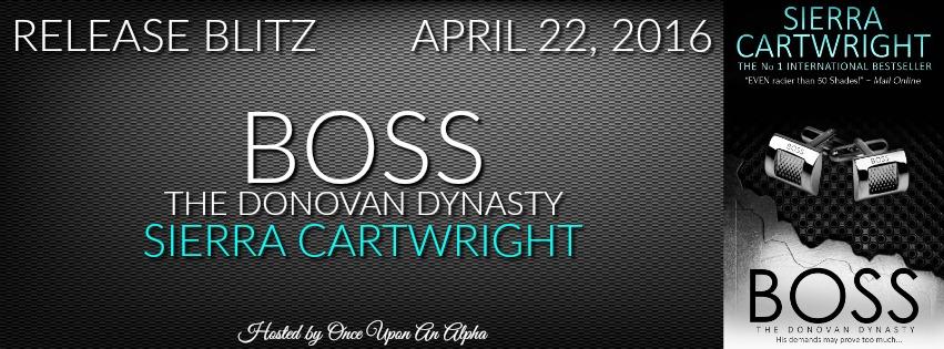 BOSS by Sierra Cartwright~ ReleaseBlitz