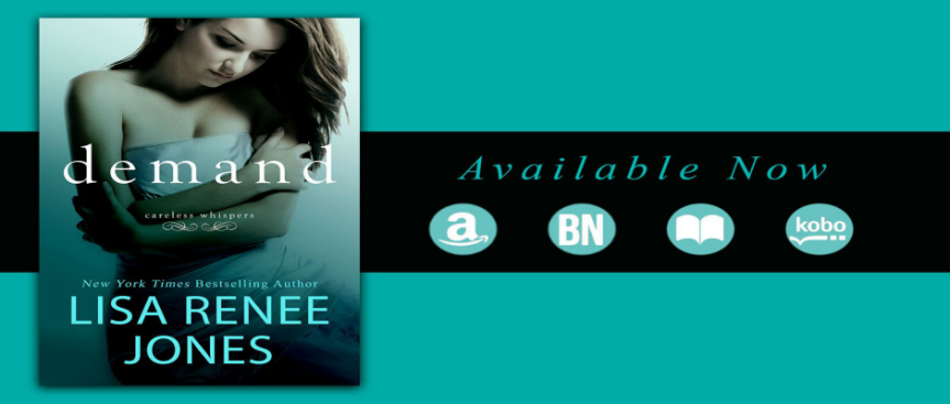 DEMAND by Lisa Renee Jones ~ Release Blitz
