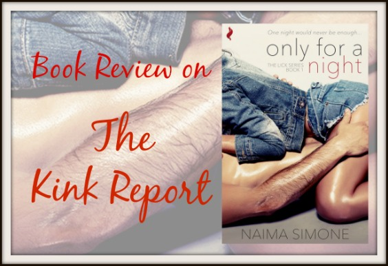 Netgalley Arc Review: ONLY FOR A NIGHT by @Naima_Simone