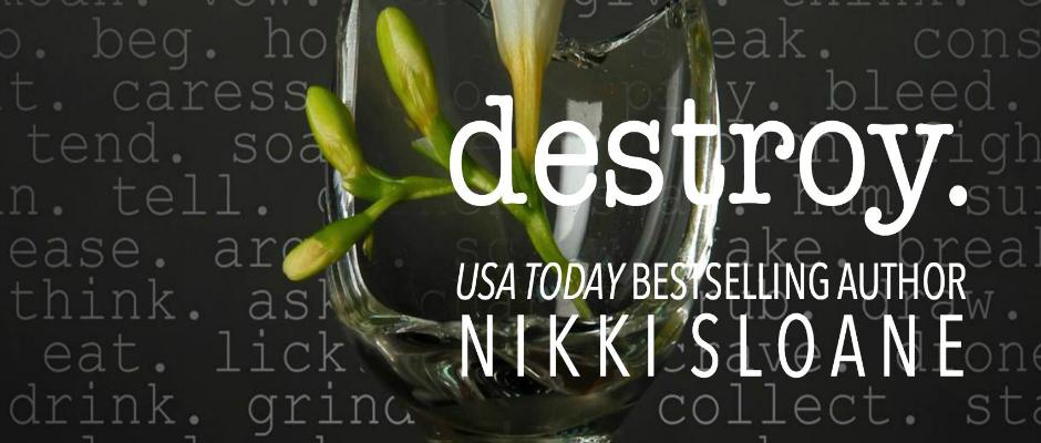 DESTROY by @AuthorNSloane ~ ReleaseBlitz