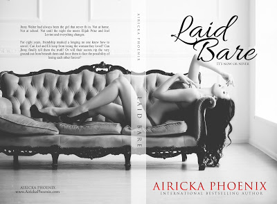 Laid Bare by Airicka Phoenix An Erotic Threesome Romance