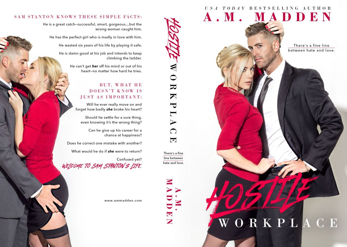 HOSTILE WORKPLACE by A.M. Madden ~ Cover Reveal