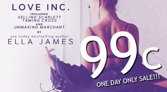 Love Inc by Ella James - 99c Sale