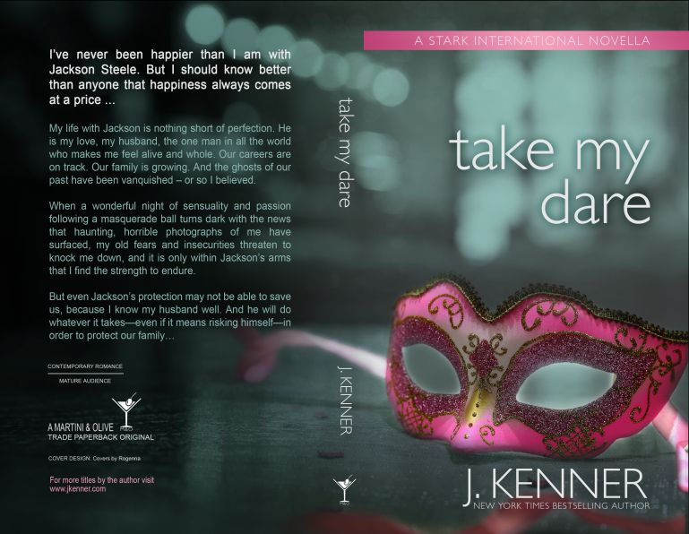 On The KINK Report: Cover Reveal Take My Dare by J Kenner