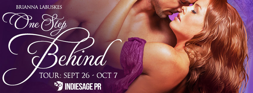Blog Tour with Excerpt:  ONE STEP BEHIND by Brianna Labuskes(@brilabuskes)