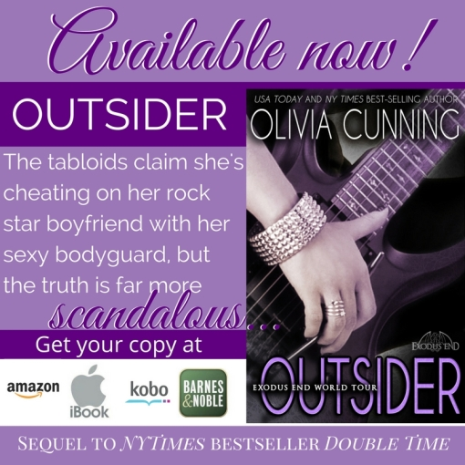 Mile High KINK Book Club presents: Outsider by Olivia Cunning