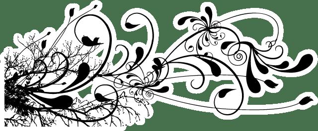 black-floral-swirl-tattoo-design