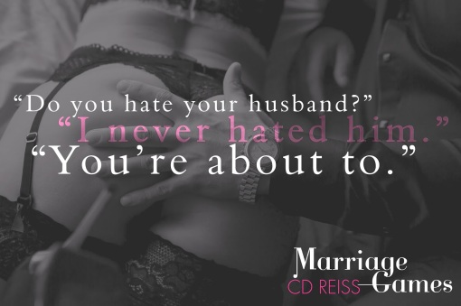 Marriage Games by CD Reiss