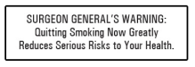 Surgeon Generals Warning