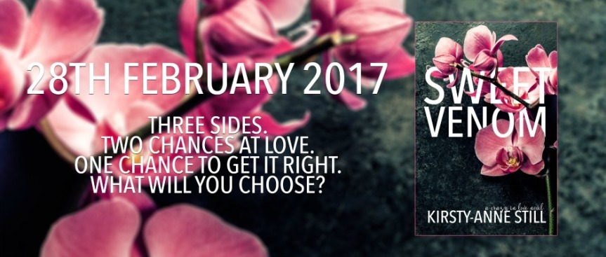 SWEET VENOM Cover Reveal | Kirsty-Anne Still –Author
