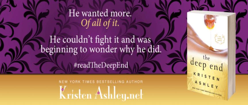 THE DEEP END Book Trailer | Kristen Ashley (@krinstenashley68) –Author
