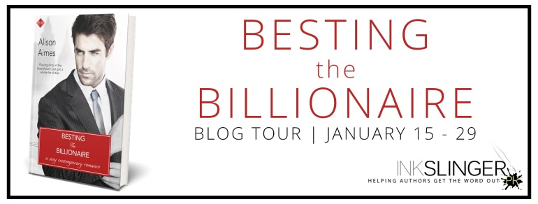 Besting The Billionaire Blog Tour | Mile High KINK Book Club