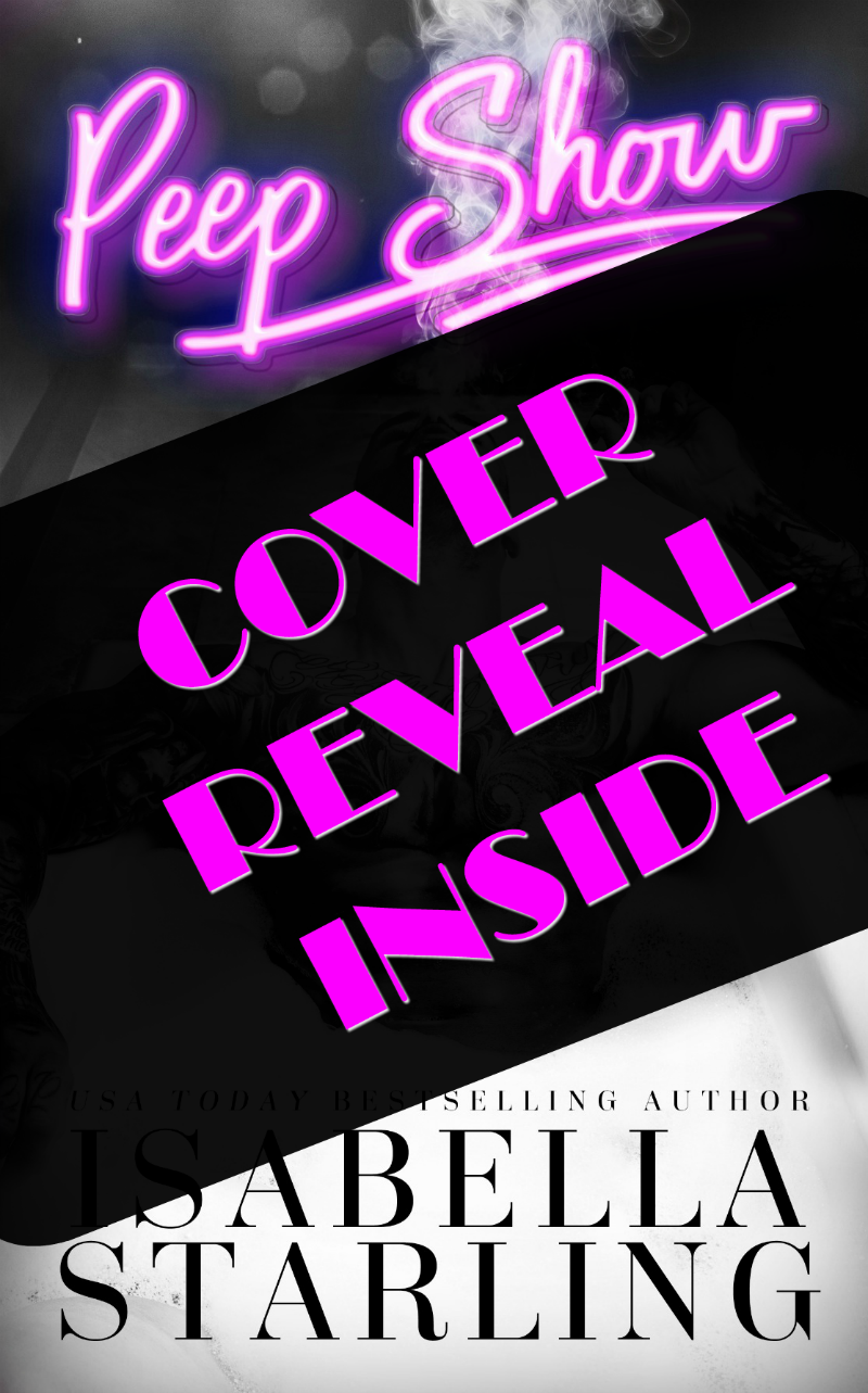 Peep Show Cover Reveal | Isabella Starling