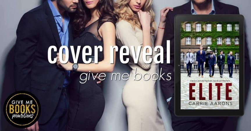 ELITE cover reveal | CarrieAarons
