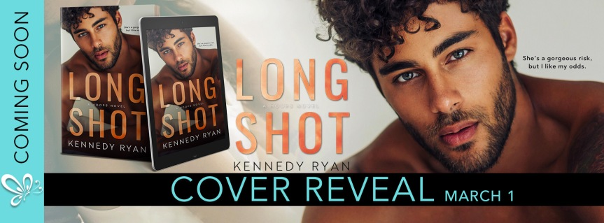 LONG SHOT cover reveal & giveaway | Kennedy Ryan #LongshotCoverReveal