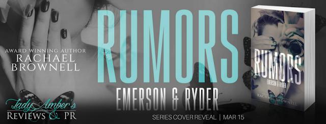 RUMORS series cover reveal | RachaelBrownell
