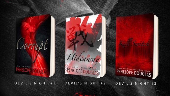 THE DEVIL'S NIGHT SERIES by Penlope Douglas